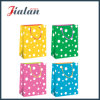 4c Printed with Water-Drop Dots Printed Shopping Gift Paper Bag