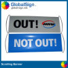 2015 Hot Selling Vinyl Hand Scrolling Banners with Custom Design