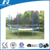 14ft Newest Deluxe Trampoline with Enclosure(TUV/GS)