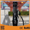 868 Xm-L T6 LED Rechargeable Aluminum Zoomable Telescopic Flashlight