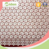 Milky Poly Embroidery Chemical Spider Web African Net Lace Fabric