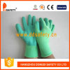 Ddsafety 2017 Green Nylon Green Latex Gloves