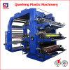 6 Color Plastic Label Flexographic/Flexo Printer Printing Press