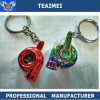 Custom Colorful Logo Metal Car Keychain