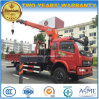 High Quality 4X2 3 Tons Jib Crane Truck 5 T Truck Mounted with Crane for Sale