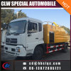 China Make 11000L Sewer Dredge Tank Truck High Pressure Sewer Cleaning Tank
