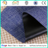 Popular Sold Black PVC Coated 600d Cation Yarn Textile Fabric Used for Backpack
