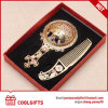 Wedding Gift Metal Hollowed out Handle Pocket Mirror&Comb Set