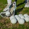 Rubber Lacrosse Ball Custom Printing Logo