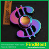 Fs054 Wholesale Factory Price USD Rainbow Zinc Alloy Fidget Spinner Hand Spinner with Certification