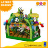 Market Entertainment Equip Lovely Panda Fun City Inflatable Bouncy House for Sale (AQ01739-1)