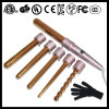 Gold LCD Removeable 6 in 1 Hair Curler