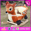 New Wooden Rocking Toy, Popular Wooden Plush Rocking Toy, Wooden Balance Rocking Toy, Wood Children Toy Ride W16D074