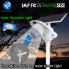 2017 Fly Hawk Light Outdoor Integrated Adjustable Solar Street Light with Remote Control Motion Sensor