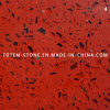 Cheap Artifical Red Quartz Stone Tile for Floor and Wall