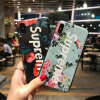 TPU Stylish Flower Cute Phone Case with Touch Feeling for iPhone X