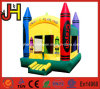 Crayon Jumping Castle Inflatable Bouncer Houses for Party Events