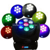 LED Stage Light 7*12W RGBW LED Beam Moving Head