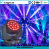 285W RGBW IP20 DMX LED Moving Head Beam Light
