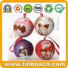 Custom Ball Shape Tins for Wedding Gift Packing Box
