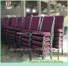 Molded Seat Stacking Metal Church Banquet Chairs (JY-G12)