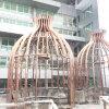 Large Metal Pavilion Metal Frame Profiles Stainless Steel Custom Fabrication