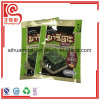 Seaweed Packaging Three Side Heat Sealed Plastic Flat Bag
