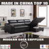 Miami Storable L Shape Leather Sofa with Chaise