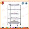 Popular Metal Wire Office Display Shelves Storage Rack (ZHw162)