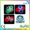 3W*8PCS Eight Gobos Four Colors LED Mini Effct Light