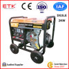 Single Cylinder Air Cooled Portable Power Diesel Generator with Ce (5kw/3kw/2kw)