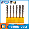 3 Flutes Solid Carbide End Mill for Aluminum Processing