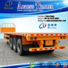 Best Sale3 Axles 40ft Flatbed Container Semi-Trailer for Sale