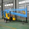 Hydraulic Lifting Table Trailer Mounted Spider Man Boom Lift Platform