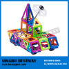 Magnetic Building Shapes Toy Stock