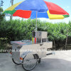Professional Stainless Steel Outdoor Street Mobile Hand Push Hot Dog Cart Jy-B1