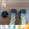 Custom Made Round PVC Plastic Flange Rope/Cable/Electric Wire Screw End Cap