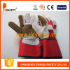 Ddsafety 2017 Rubberized Brown Leather Gloves