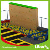 Sky Zone Supplier for Adult Big Indoor Trampoline Park with Climbing Walls