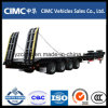 Cimc 4 Axles 70 Ton Low Bed Trailer