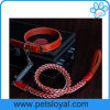 Hot Sale Braided Pet Leash Leather Dog Lead (HP-101)