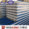 Insulated Sandwich Panel with EPS, PU, Rockwool Core Materials