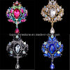 Crown Glass Brooch Rhinestone Alloy Brooch for Women (TB-016 crown)