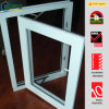UPVC/PVC Hurricane Impact Window, Single Panel Swing out Window