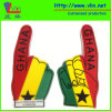 One Finger Big Foam Hand with Ghana National Flag