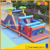 Popular Blue Jungle Obstacle Outdoor Crazy Inflatable (AQ1412-1)