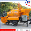 Mobile Concrete Mixer Pump with Drum Mixer