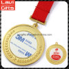 Wholesale Unique Cheap Zinc Alloy Custom Craft 3D Round Promotion Souvenir Sport Award Gold Metal Sport Blank Medal with Printing Sticker Inserts Logo