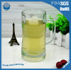 600ml High Transparent Lead-Free Glass Beer Mug with Handles