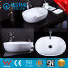 Bathroom Squatting Porcelain Wash Basin for Construction Project